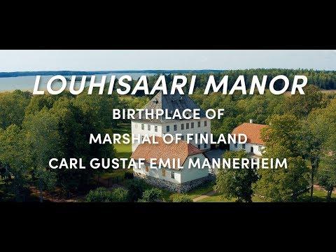 LOUHISAARI MANOR - Birthplace Of Marshal Of Finland Carl Gustaf Emil Mannerheim