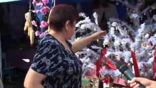На фестивале в Малиновке поженились десятки пар