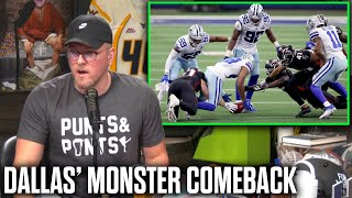Pat McAfee Reacts To The Cowboys INSANE Comeback On The Falcons