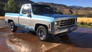 1980 Chevy C10 Short Bed Frame Up Restoration, New 325hp 350 V8 Motor, Brand New Paint & Interior