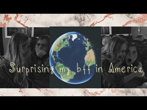 SURPRISING MY BFF IN AMERICA!