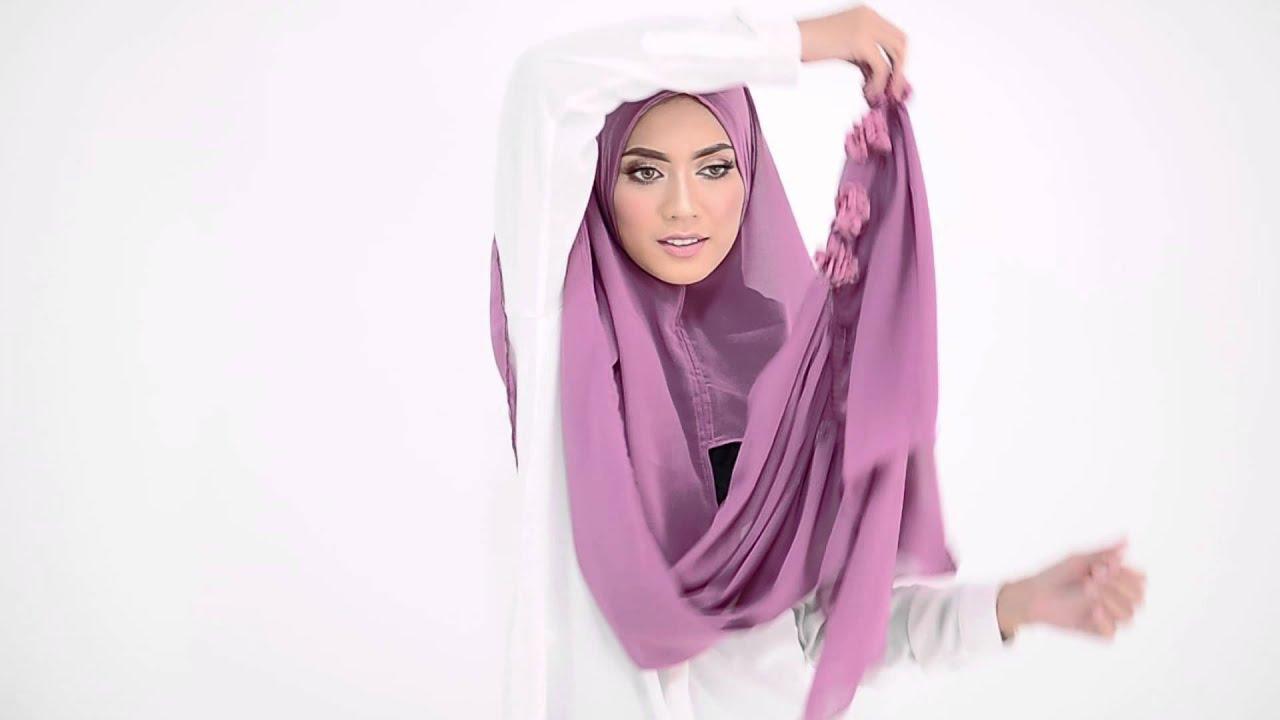 Shawlbyvsnow hijab tutorial with flower crown instant scarf shawlbyvsnow hijab tutorial with flower crown instant scarf style2 izmirmasajfo