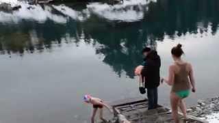 Купание в голубых озерах Горный Алтай.(, 2015-01-19T07:09:17.000Z)