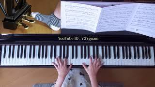 使用楽譜;ぷりんと楽譜・上級(採譜者:記載なし) 2017年11月12日 録画.