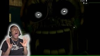 WARNING!!! WORST JUMP OF YOUR LIFE!!!! Five Nights At Freddy's 3 Part 1