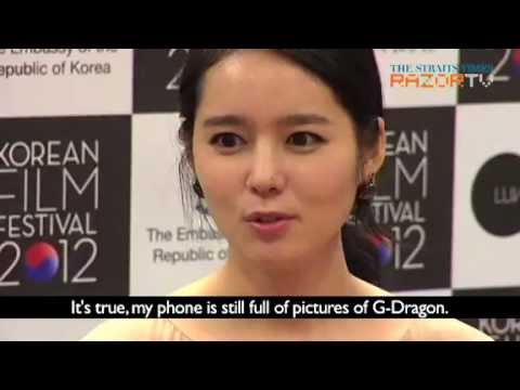 [2012.11.09] RazorTV Interview with Han Ga In Part 2 - Her hubby is a bigger Big Bang fan ENG SUB