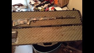 loading and shooting a knight tk2000 black powder muzzleloading shotgun 12 gauge