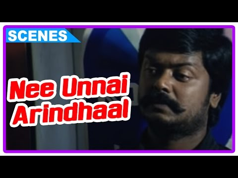 Nee Unnai Arindhaal Tamil Movie | Scenes | Rishiraj Kills The Neighbour | Murali