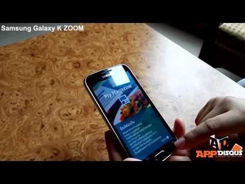 พรีวิว พาชม : Samsung Galaxy K ZOOM เครื่องสดจากวันเปิดตัว