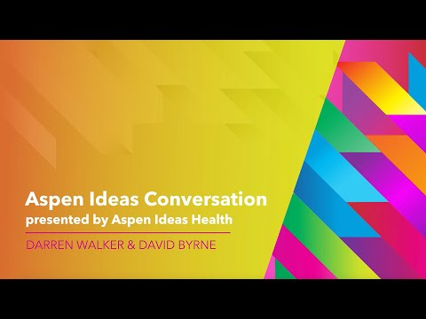 Darren Walker and David Byrne - Aspen Ideas Festival