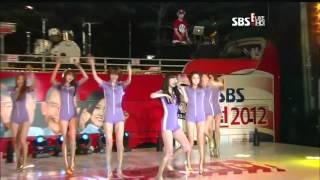 Repeat youtube video Live HD | 120729 Nine Muses - TICKET @ SBS ALL Rock! Korea
