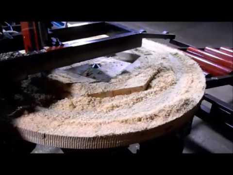 видео: Линия производства щек кабельных барабанов