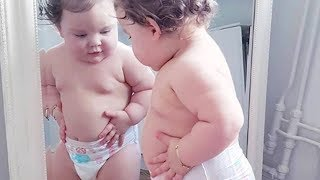 BEST FUNNY LOOK AT THOSE CHEEKS! Cutest Chubby Baby | Funny Babies Videos Compilation