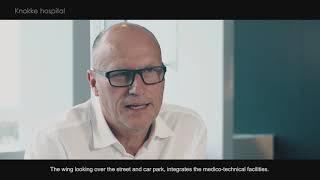 Duurzame verlichting oplossing helpt bij het creëren van een 'helende sfeer' voor futuristische AZ Zeno ziekenhuis