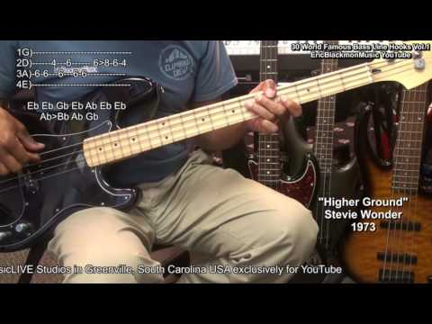 30 Easy Famous MUST KNOW Bass Guitar Line Hooks & Riffs With TABS Vol.1