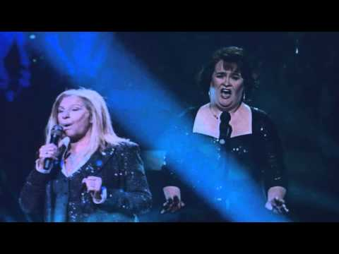 Susan Boyle & Barbra Streisand..Send In The Clowns..(Audio) from A Little Night Music