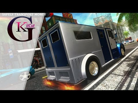 Bank Manager Cash Transport Truck Gameplay Android [HD]