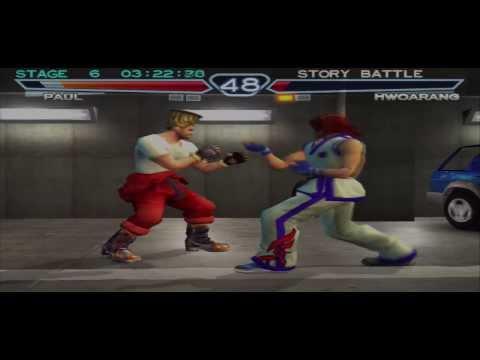 Tekken 4 (PS2) - Story Mode: Paul Playthrough