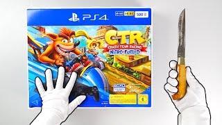 """PS4 """"CRASH"""" Console Unboxing (Crash Team Racing Bundle) + Crash Bandicoot Bonus"""
