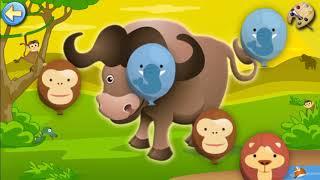 Пазл  , puzzle , малыши , kids , safari
