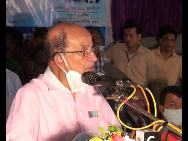 শেখ হাসিনা সরকার শিল্পখাতে অধিক গুরুত্ব  দিচ্ছেন: শিল্পমন্ত্রী