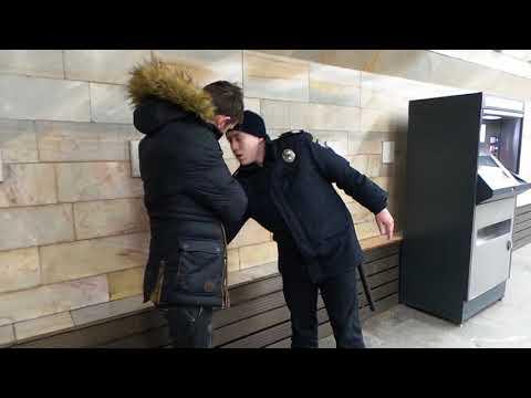 Незаконный обыск в метро, Киев