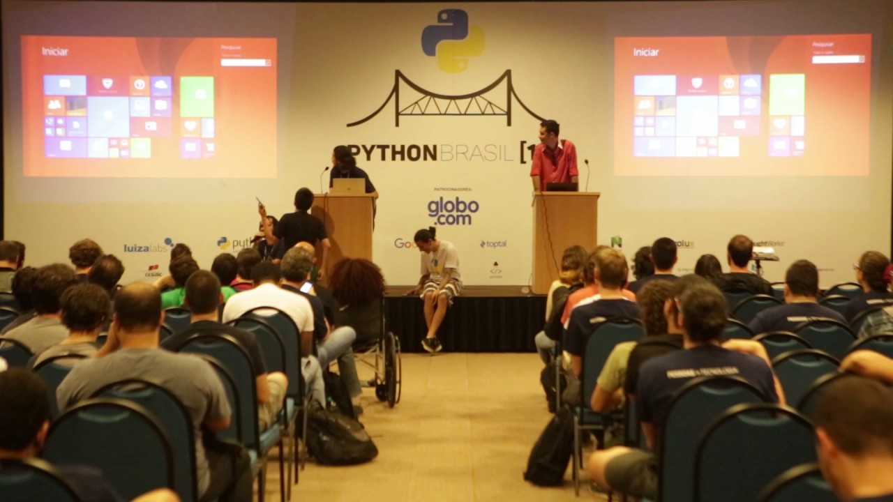 Image from lightning talk - Iago e Erik