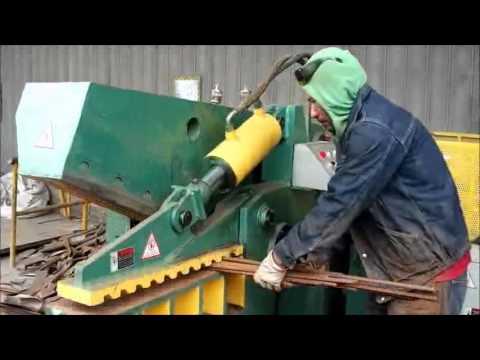 Q43 series Alligator shear for metal scrap recycling
