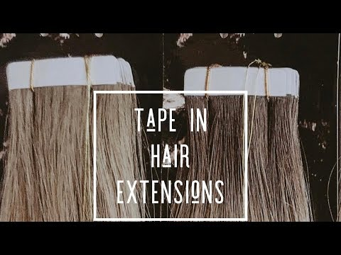 TAPE IN HAIR EXTENSIONS TIPS + TRICKS!