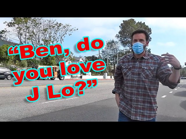 Ben Affleck Dodges Questions About J Lo: