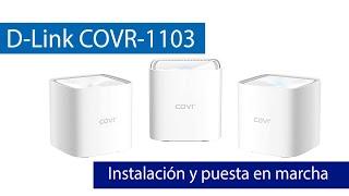 Cómo instalar el Wi-Fi Mesh D-Link COVR-1100 vía web
