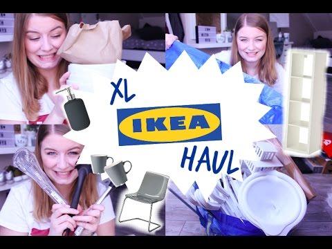 XL IKEA HAULerste eigene Wohnung Haushalt  Deko  YouTube