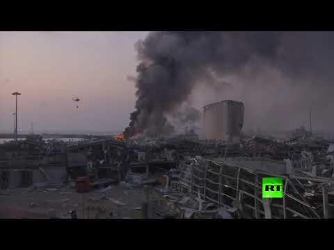 اللقطات الأولى من مكان انفجار بيروت  - نشر قبل 7 ساعة