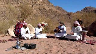 Traditional Bedouin Music at Wadi Rum, Jordan.MOV