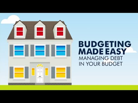 The Secret to Managing Debt within Your Budget