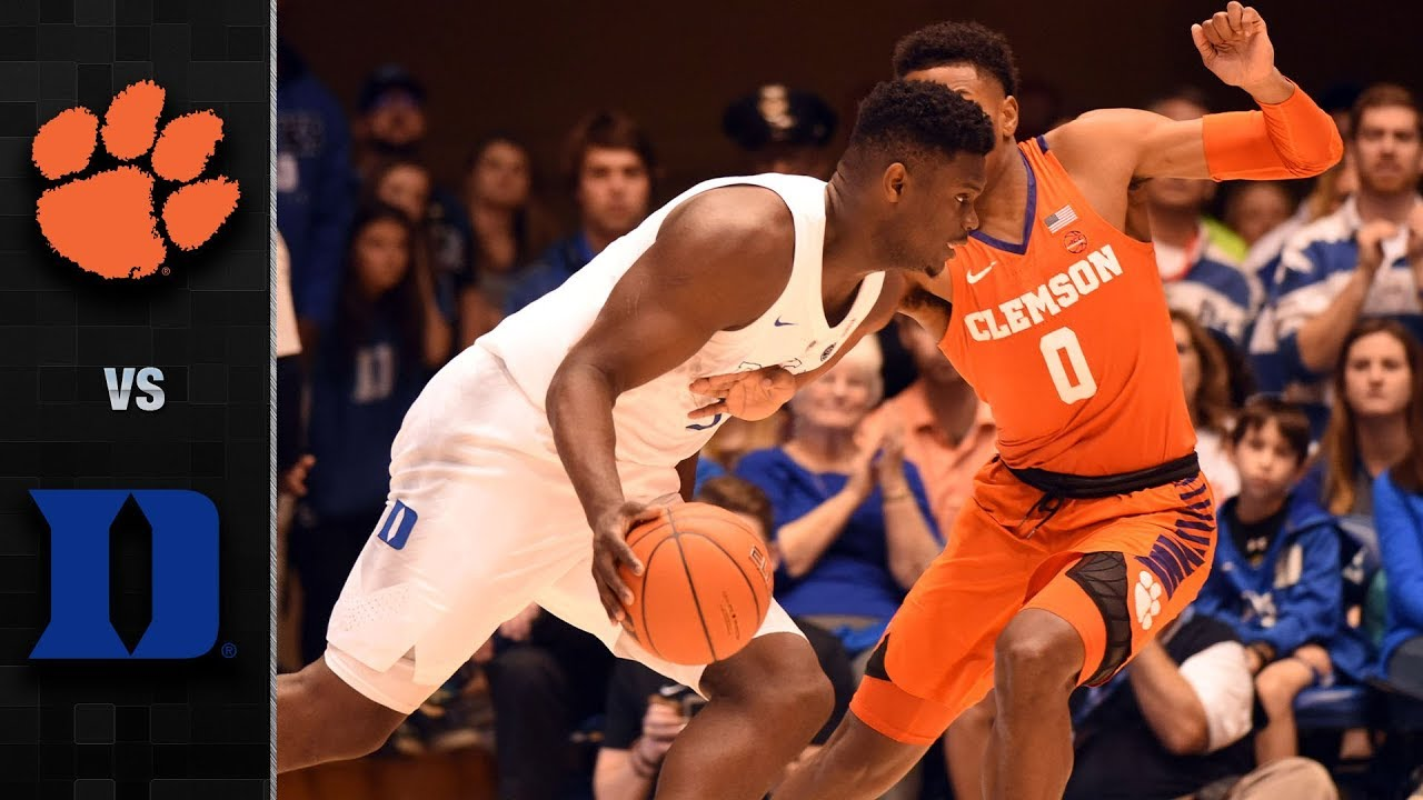 Clemson vs. Duke Basketball Highlights (2018-19) - YouTube