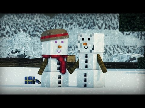 Snowman -The Journey (Minecraft Animation)