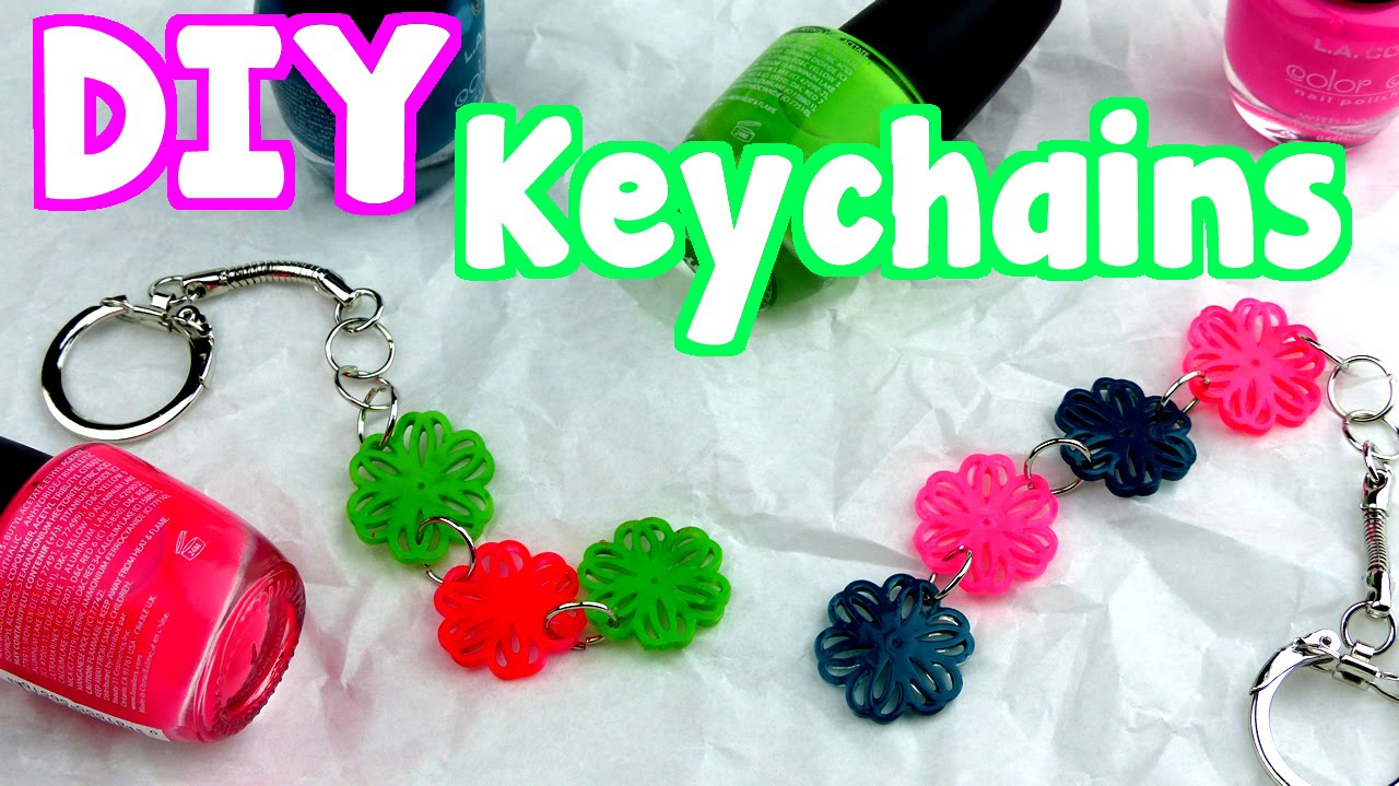 DIY Crafts  How To Make Easy Keychains - YouTube b07129fc3ddb