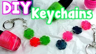 DIY Crafts: How To Make Easy Keychains