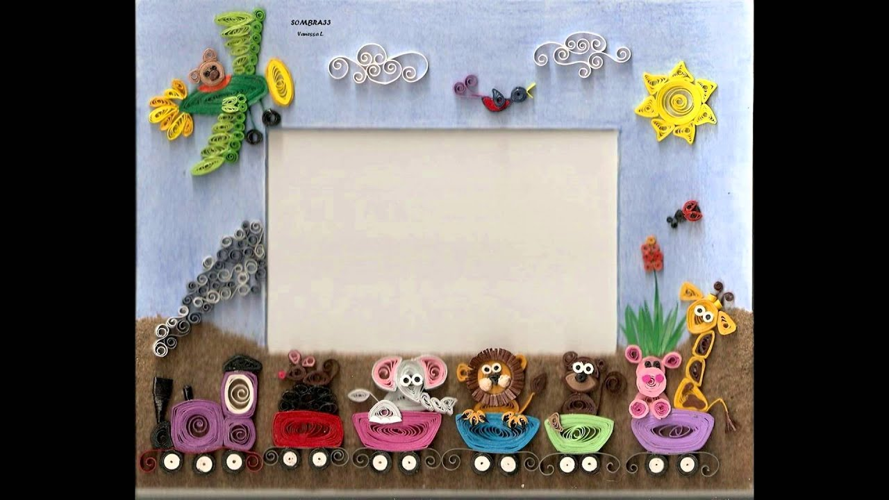 Quilling Photo Frames Youtube