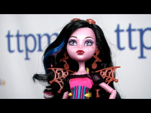 Monster High Freaky Fusions Dracubecca from Mattel