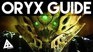 "Destiny The Taken King ""How to Defeat Oryx"" 