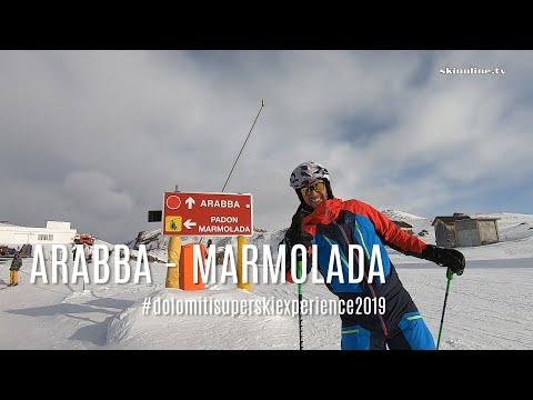 From Alta Badia to the Marmolada glacier