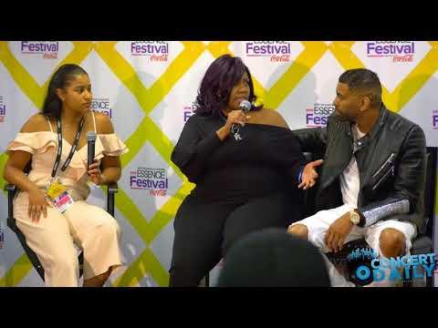 ESSENCE FEST: Kelly Price & Ginuwine speak on their EMF experiences