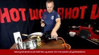 Hot Wok - Første gang du bruger din wok HD