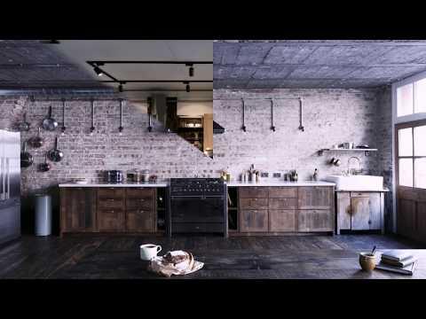 Кухни ЛОФТ новые дизайны фото 2018 Photo Fresh