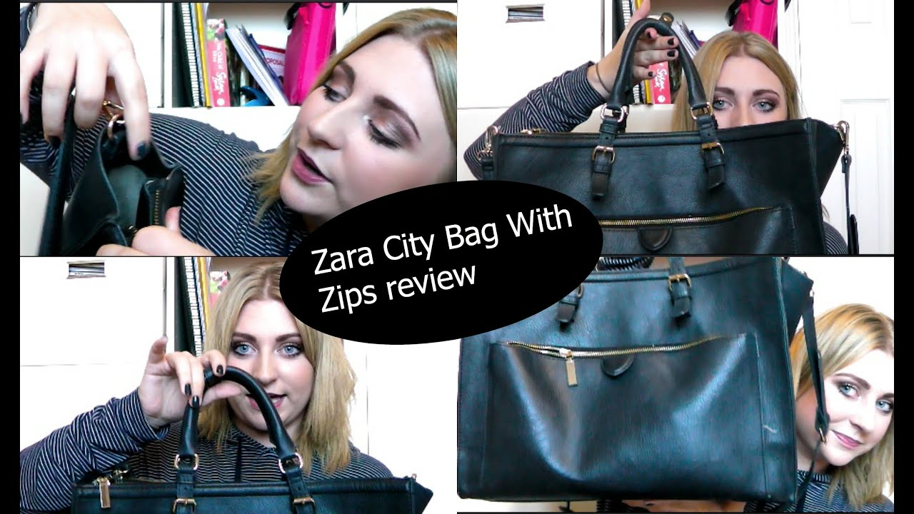 Zara Office City Bag With Zips Review KathrynsSecrets YouTube