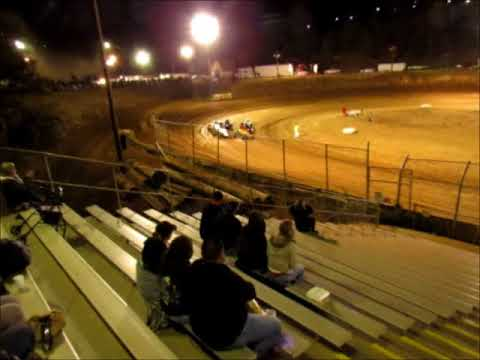 Sprintcars Wingless @ Placerville Speedway 9 21 17 part 1