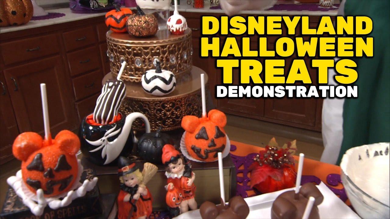 disneyland resort halloween treats demonstration at disney california adventure - Disneyland Hours Halloween