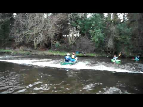 River Bann  - Belfast Kayak club - 08/01/2012